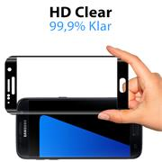 Full Screen Panzerglas für Samsung Galaxy S7 Schutzfolie Glas Vollbild Panzerfolie