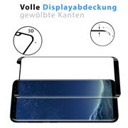 Full Screen Panzerglas für Samsung Galaxy S8 Plus Schutzfolie Glas Vollbild Panzerfolie