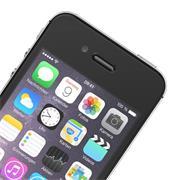 Panzer Glas Folie für Apple iPhone 4 / 4S 9H Schutz Folie Echtglas