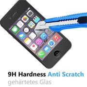Glasfolie für Apple iPhone 4 | 4s Schutzfolie Panzer Scheibe Folie 9H