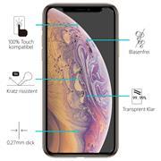 Glasfolie für Apple iPhone X | XS | 11 Pro Schutzfolie Panzer Scheibe Folie 9H