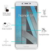Panzer Glas Folie für Honor 6A 9H Handy Schutz Folie Echtglas