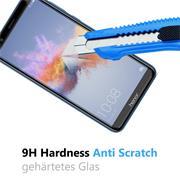 Panzer Glas Folie für Honor 7X 9H Handy Schutz Folie Echtglas