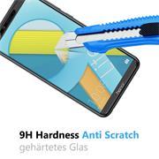 Panzerglas für Honor 9 Lite Glasfolie Displayschutz Folie Glas Hartglas Anti Fingerprint
