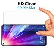 Panzerglas für Huawei P40 Lite Glasfolie Displayschutz Folie Glas Hartglas Anti Fingerprint