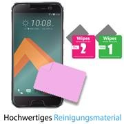 Panzerglas für HTC 10 Glasfolie Displayschutz Folie Glas Hartglas Anti Fingerprint