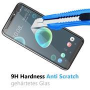 Glasfolie für HTC Desire 12 Schutzfolie Panzer Scheibe Folie Display Schutzglas 9H