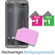 Panzer Glas Folie für HTC Desire 530 Schutz Folie 9H Echtglas