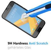 Glasfolie für HTC A9s Schutzfolie Panzer Scheibe Folie Display Schutzglas 9H