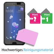 Panzerglas für HTC U11 Glasfolie Displayschutz Folie Glas Hartglas Anti Fingerprint