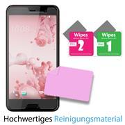 Panzer Glas Folie für HTC U Play Handy Schutz Folie 9H Echtglas