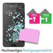 Panzerglas für HTC One Ultra Glasfolie Displayschutz Folie Glas Hartglas Anti Fingerprint