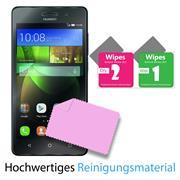 Panzer Glas Folie für Huawei G7 Handy Schutz Folie 9H Echtglas