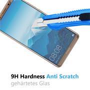 Panzer Glas Folie für Huawei Mate 10 Pro Schutz Folie 9H Echtglas
