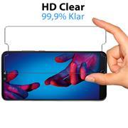 Panzer Glas Folie für Huawei P20 Handy Schutz Folie 9H Echtglas