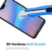 Panzerglas für Huawei P20 Lite Glasfolie Displayschutz Folie Glas Hartglas Anti Fingerprint