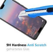 Glasfolie für Huawei P20 Pro Schutzfolie Panzer Scheibe Folie Display Schutzglas 9H