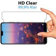 Panzerglas für Huawei P20 Pro Schutzfolie Glasfolie 9H Ultra Clear Glas Folie