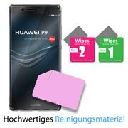 Glasfolie für Huawei P9 Schutzfolie Panzer Scheibe Folie Display Schutzglas 9H