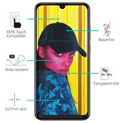 Panzerglas für Huawei P Smart 2019 Glasfolie Displayschutz Folie Glas Hartglas Anti Fingerprint