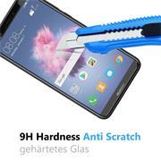Panzer Glas Folie für Huawei P Smart Schutz Folie 9H Echtglas