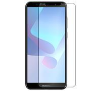 Panzer Glas Folie für Huawei Y6 2018 Schutz Folie 9H Echtglas