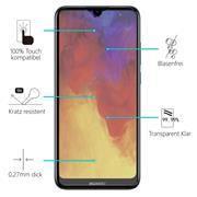 Glasfolie für Huawei Y6 2019 Schutzfolie Panzer Scheibe Folie Display Schutzglas 9H