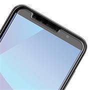 Panzer Glas Folie für Huawei Y7 Handy Schutz Folie 9H Echtglas