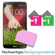 Glasfolie für LG G2 Schutzfolie Panzer Scheibe Folie Display Schutzglas 9H