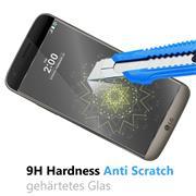 Panzer Glas Folie für LG G5 Handy Handy Schutz Folie 9H Echtglas