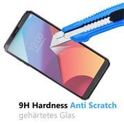Glasfolie für LG G6 Schutzfolie Panzer Scheibe Folie Display Schutzglas 9H