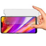Panzer Glas Folie für LG G7 Handy Handy Schutz Folie 9H Echtglas