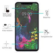 Panzerglas für LG G8s Glasfolie Displayschutz Folie Glas Hartglas Anti Fingerprint
