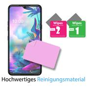 Panzerglas für LG G8X Glasfolie Displayschutz Folie Glas Hartglas Anti Fingerprint