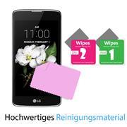 Panzer Glas Folie für LG K7 Handy Handy Schutz Folie 9H Echtglas