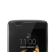 Panzer Glas Folie für LG K8 Handy Handy Schutz Folie 9H Echtglas