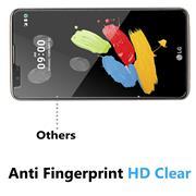 Panzer Glas Folie für LG Stylus 2 Handy Schutz Folie 9H Echtglas