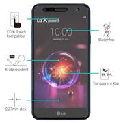 Glasfolie für LG X Power 3 Schutzfolie Panzer Scheibe Folie Display Schutzglas 9H