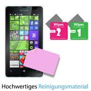 Panzer Glas Folie für Microsoft Lumia 532 Handy Schutz Folie 9H