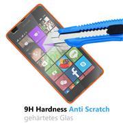 Glasfolie für Microsoft Lumia 540 Schutzfolie Panzer Scheibe Folie Display Schutzglas