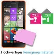 Panzer Glas Folie für Microsoft Lumia 540 Handy Schutz Folie 9H
