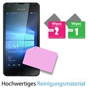 Glasfolie für Microsoft Lumia 550 Schutzfolie Panzer Scheibe Folie Display Schutzglas