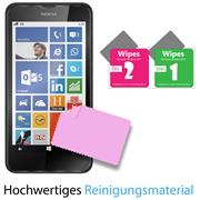 Panzer Glas Folie für Nokia Lumia 630 Handy Schutz Folie 9H Echtglas