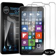 Panzerglas für Microsoft Lumia 640 XL Schutzfolie Glasfolie 9H Ultra Clear Glas Folie