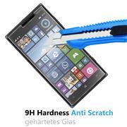 Glasfolie für Nokia Lumia 830 Schutzfolie Panzer Scheibe Folie Display Schutzglas 9H