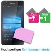 Panzer Glas Folie für Microsoft Lumia 950 Handy Schutz Folie 9H