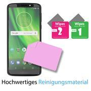 Panzer Glas Folie für Motorola Moto C Plus Handy Schutz Folie 9H