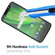 Glasfolie für Motorola Moto G6 Play Schutzfolie Panzer Scheibe Folie Display Schutzglas