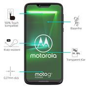 Panzerglas für Motorola Moto G7 Power Glasfolie Displayschutz Folie Glas Hartglas Anti Fingerprint
