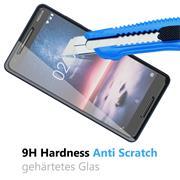 Glasfolie für Nokia 2.1 Schutzfolie Panzer Scheibe Folie Display Schutzglas 9H